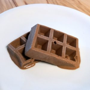 Like ice in the sunshine – Schoko-Eis-Waffeln