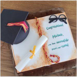 Auf ins nächste Schuljahr – Abschlusstorte Harry Potter Style