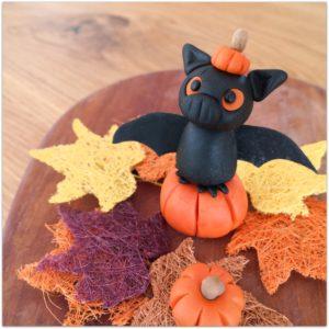 Achtung Tiefflieger! – Happy Halloween mit süßer Fondant Fledermaus