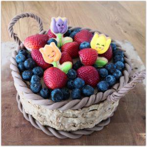 Noch ein Osterkörbchen, aber essbar :) – Osterkorb Torte