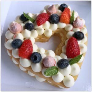 Zum Muttertag – Herztörtchen Cream tart